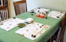ランチ会テーブル