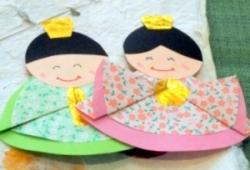 ランチ会雛人形