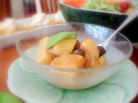フルーツリンゴ煮