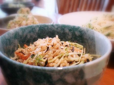トウミョウ五目玄米