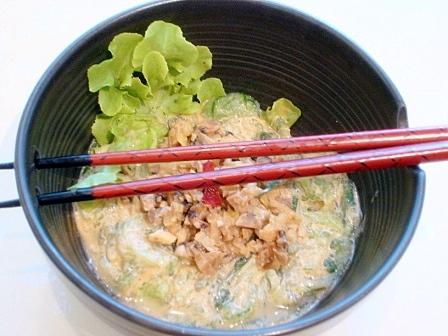 キュウリ麺