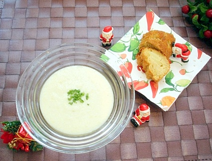 クリスマスジャガスープ