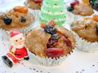 クリスマス蒸しケーキ2