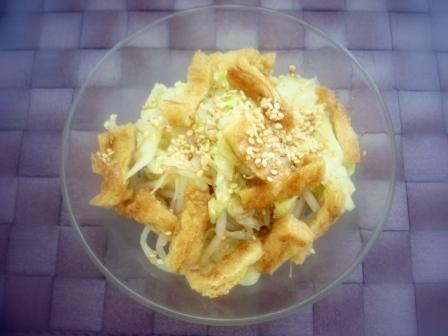 ハクサイ中華サラダ2