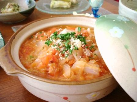 ハクサイ鍋焼き