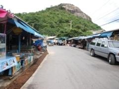 フアヒン市場ストリート