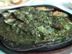 フアヒンバジルソースムール貝