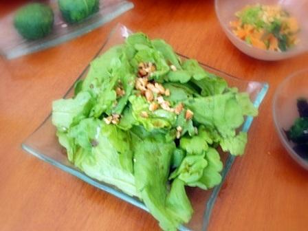 春菊サラダ2