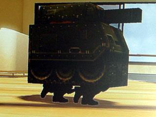 段ボール戦車