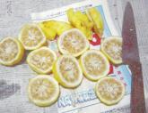 20071214 柚子の保存<果汁>1