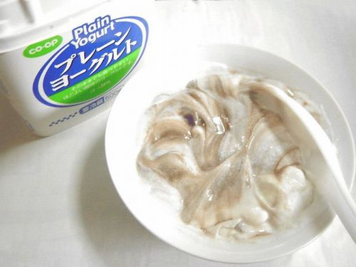 20071227 餡子ヨーグルト4
