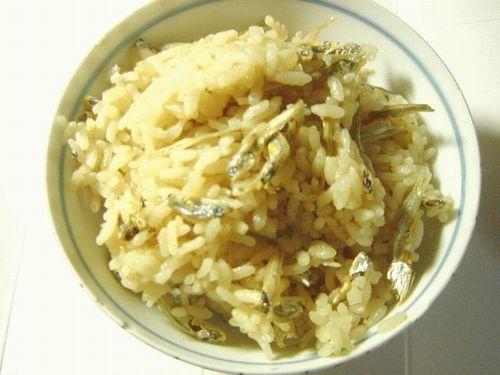 20080413 簡単で美味しい煮干ご飯1