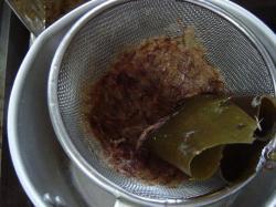 20080917 昼間から湯豆腐4