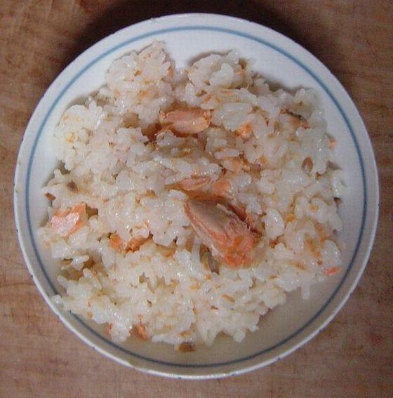 20080918 和風鮭ご飯1