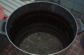 黒豆の本当の灰汁5
