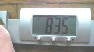 今朝の体重1