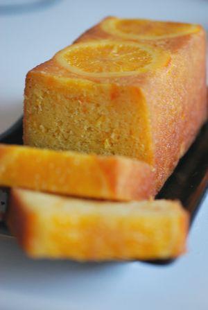 オレンジバターケーキ