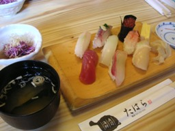 新潟の寿司満喫