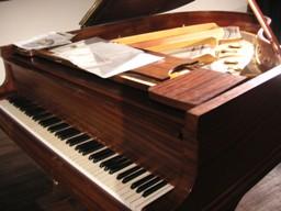 本番が終わったあとのピアノ