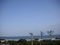 太平洋だ。