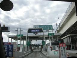 まずは磐越自動車道で