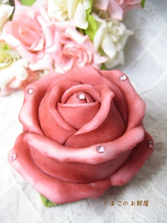 薔薇の小物入れ