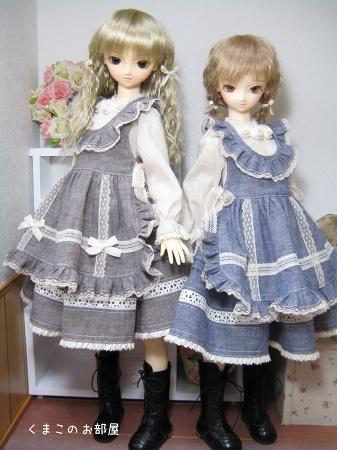 雛姫(SDのの)と彩羽(SD-F-13)