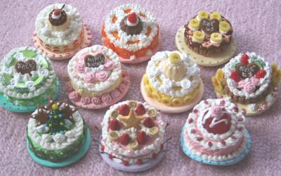 斜めケーキ
