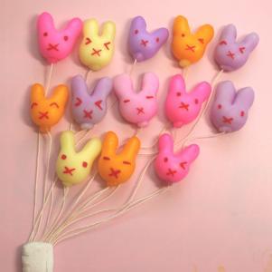 ウサギの風船