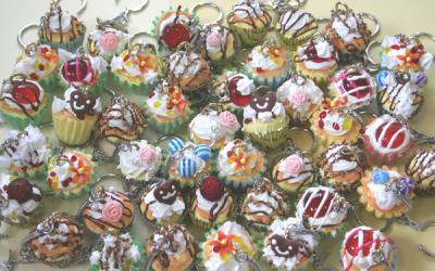 カップケーキキーホルダー