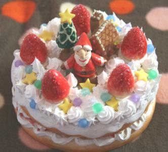 クリスマスケーキサンタ