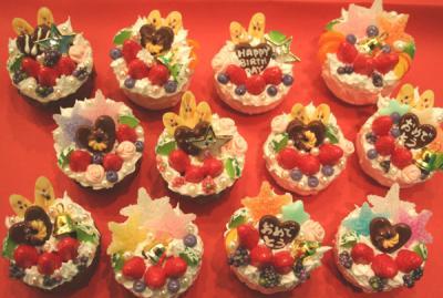 ケーキのマグネット