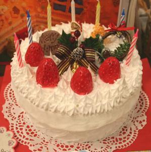 クリスマスケーキ小物入れ1