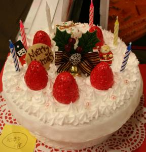クリスマスケーキ小物入れ2