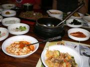 豆腐スープ、ビビンバ