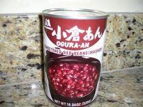 小豆の缶詰