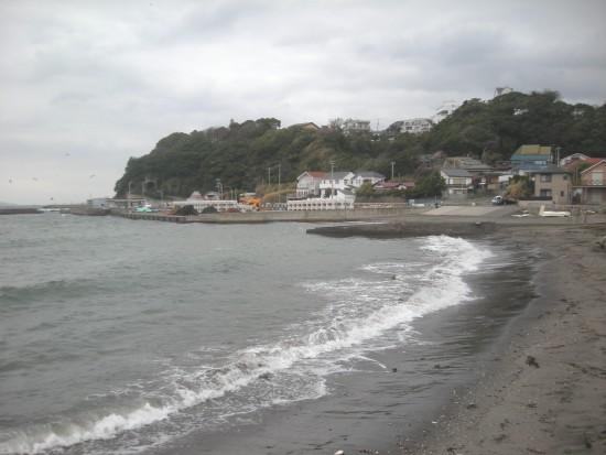 逗子の海岸