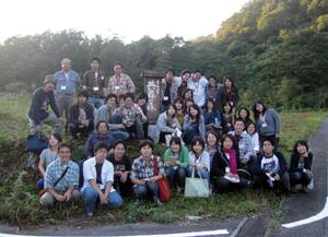 2007/10共存の森北陸セミナー集合写真