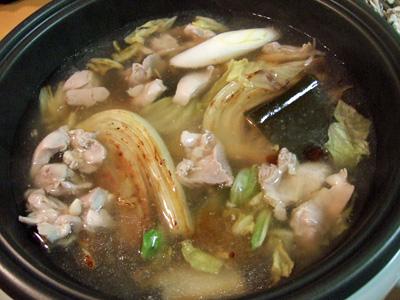鶏あんかけスープ