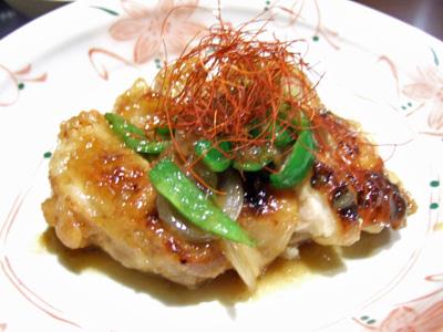 鶏肉の柚子胡椒風味