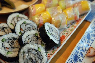 変わり巻き寿司