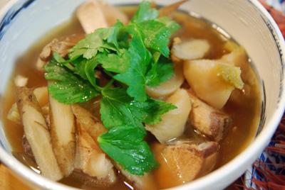蕪と鰤の生姜風味煮