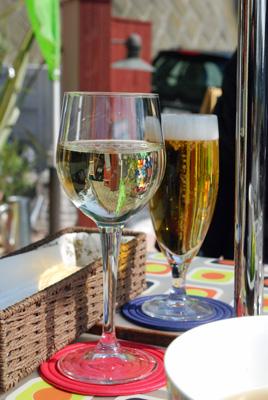 ランチビア&ワイン