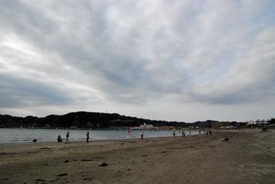 今日の逗子海岸