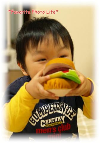 ハンバーガー食べま?す♪