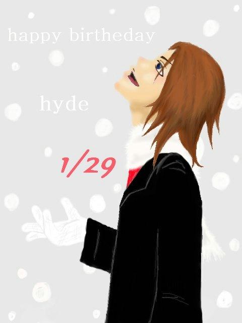 hyde誕生日2008