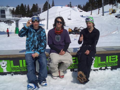 Stefan Karlsson (ALLIAN) ,Lucas Willson (M6),Jamie Lynn (LIBTECH)