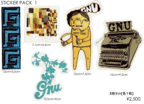 GNU ステッカー
