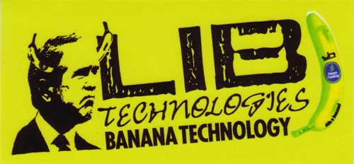 LIB TECH STICKER