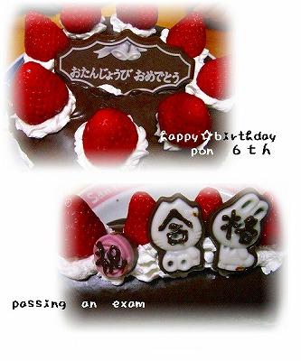 縮小ケーキ